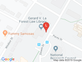 Gerard V. La Forest Law Library on Google Maps
